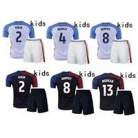 Wholesale France Soccer Kit - 2017 High quality usa Kids HOME AWAY Soccer jerseys 16 17 France jersey Children youth Kits Lisboa Football shirts maillot.