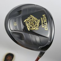 Wholesale Katana Driver Golf - New Golf CLUB KATANA VOLTIO NINJA 880Hi Golf driver Gold Black High Bounce