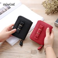 Women sports coin banks - New Men Women Business Cards Wallet Simple PU Leather Credit Card Holder Case Card Holder Fashion Bank Cards Bag ID Holders