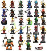 Wholesale Marvel Action Figure Wholesale - 31pcs Ninjago figures marvel super heroes minitoy go building blocks figures bricks toys action figure