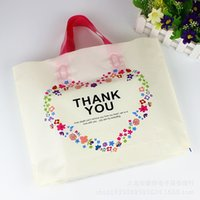 Wholesale pc vaccum - New Thickening Packing Bag Multi Function Clothing Shopping Bags Creative Fashion Cute Plastic Pocket 50 Pcs In One Package 18 8pc J R