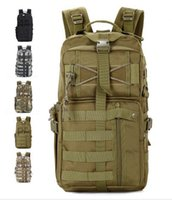 Wholesale Swat Tactical Molle Assault Backpack - Outdoor Military Tactical Assault Camo Soldier Backpack Molle System 3 Day Life Saver Bug Out Bag Survival SWAT Police 20pcs Free DHL Fedex