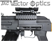 Vector Optics Tactical AK 47 74 Double Picatinny Rail Scope Side QD Mount Quick Release Ajuste desmontável AK47