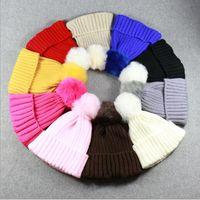 Wholesale Dance Wear Lady - New Candy Color Knitting Cotton Men Women Hats Girls Caps Boys Beanies Fashion Lady Dance Head Wear Hats Accessories Cap