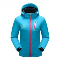 Softshell Jacke Frauen Marke Windstopper Wasserdichte Jacke Warm Thermal Frauen Winter Jacke Outdoor Sport Mantel JK04