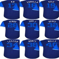 Wholesale Willy S - 2017 Little League Players Weekend Men Lady Kid Chicago Kris Bryant KB Ben Zobrist Zorilla Willson Contreras Willy Baseball Jersey