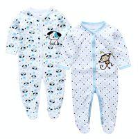 Wholesale Cartoon Body Suit - Baby Romper, Cut Cartoon Animal Newborn 2Pcs pack Baby Clothes Jumpsuit Infant Baby Girl Cotton Romper Costume Body Suits