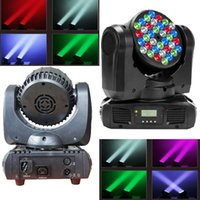 Iluminação de palco LED Par Light Spot Beam 108W 36LEDs (4In1) DMX512 Moving Head para Home Garden Xmas Christmas Birthday Party DJ Disco