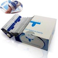 caja de toallitas para uñas al por mayor-Nuevo 200 PCS / Box Nail Art Remove Pads Wipes para aplicación de esmalte de uñas UV Gel fácilmente