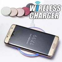 Wholesale Galaxy New Brand Phone - 2017 New 9V 2A Fast Quick Qi Charger Wireless Charger Charging For iphone x 8 Galaxy NOTE 8 HTC SONY and Other Brands of Mobile Phone