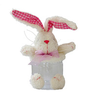 Wholesale Rabbit Jewelry Box - New Products Cute Plush Bunny Children's Candy Gift Box and Cute Birthday Gifts Gift Jewelry 29cm Free Shipping