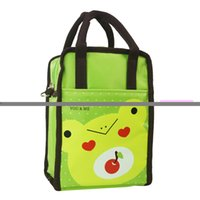 Wholesale Cute Lunch Bag For Children - Wholesale- Popular Cute Cartoon animal Lunch Bag Kids Lunch Bag Thermal Cooler For Children Picnic Bag
