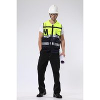 Wholesale Reflective Running Clothes - Reflective vests 360 Degrees High Visibility Neon Safety Vest Belt Safety Vest Fit For Running Cycling Sports Outdoor Clothes