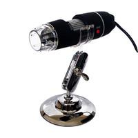 Wholesale mini digital microscope usb camera online - Newest LED USB Digital Microscope Endoscope Magnifier Video Camera Stand mini camera