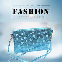 Wholesale Envelop Wallets - Wholesale- New 2016 Fashion Stone Pattern Ladies Envelop Clutch Wallets Women Handbag Tide Casual Cellphone Shoulder Messenger Bags P1120