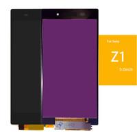 pantalla xperia z1 al por mayor-Pantalla LCD para Sony Xperia Z1 Z2 Z3 Pantalla táctil digitalizador Pantalla táctil de reemplazo con herramientas de ensamblaje completas