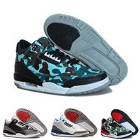 Best Cheap Air Retro 3 Basketball Schuhe 3s schwarz Zement cemend 88 Cyber ​​Montag Fee rot okc pur uk wahr blau grau Wolle Sneaker Sprot US 7-13