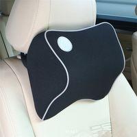 Wholesale Memory Foam Travel Neck Cushion - Hot Car Seat Headrest Pad Memory Foam Travel Pillow Head Neck Rest Support Cushion Free Shipping