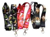 Wholesale Duck Dynasty Wholesale - New heat! Duck Dynasty mobile phone lanyard, mobile phone accessories, a wholesale 100pcs free shipping