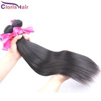 Wholesale remi indian hair - Amazing Mix Length 2pcs Peruvian Straight Hair Silky Soft Human Hair Weave Bundles Cheap Unprocessed Straight Remi Hair Extensions