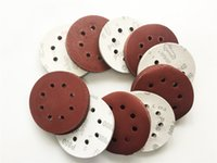 Wholesale Sand Abrasives - 100pcs 125mm Sand paper Abrasive Sand Disc for Sanding with Grits 60-1000 Power Tools Accessories