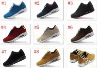 Wholesale Light Blue Suede Boots - Suede Leather Boots AM 90 VT Men Winter Sneakers Shoes Man Sneakerboots Walking Shoes Zapatillas 8 Colors Size 7-11