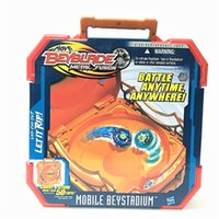 Wholesale Takara Tomy Toy - Real Takara TOMY for Hasbro Beyblade METAL FUSION Mobile Beystadium HIGH PERFORMANCE TOPS LET IT RIP BATTLE ANYTIME , ANYWHERE Toy EA235
