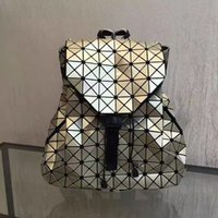 Wholesale Flexible Material - Young Girls fashion backpacks Acrylic Pearl material super flexible Checks double belts backpack or school bags large volume