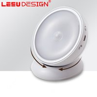 Wholesale Wholesale Small Led For Sale - 2017 new latest 360 degree rotating children night light Energy saving night light sensor LED small night light for sale