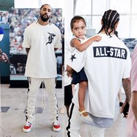 Wholesale Men Baseball Tee S - Summer Fashion Justin bieber All Star Fear of God Fog Hip Hop Cool Cotton Sport Tee T-Shirt Men Women baseball Short Sleeve Tshirt