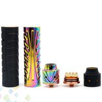 Wholesale copper electronics mods online - Vaporizer Sebone Mod Kit MM Electronic Cigarette Copper Brass Black Rainbow colors Best Price DHL Free