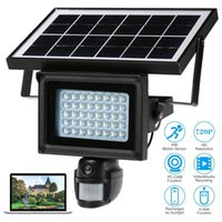 Wholesale Outdoor Solar Security Cameras - Solar Power Waterproof Outdoor Security DVR Camera With Night Vision TF Card free shipping A good product