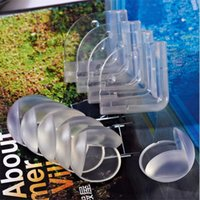 Wholesale Shelf Loading - PrettyBaby Children Baby Strip Safety Round Protector Glass Table Desk Shelf Furniture Corner Guards Cover For Kids Toddle Infant WD288