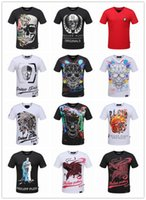 Wholesale Street Sync - NEW 2017 Men's T Shirts street tide brand short-sleeved round neck cotton men's personality Official sync 1: 1 men's T-shirt #999888