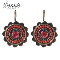 Wholesale Cheap Vintage Jewelry For Sale - Dorado New Ethnic Jewelry Charming Vintage Resin Beads Drop Earrings For Women Fashion Earring Big Discount Cheap Sale