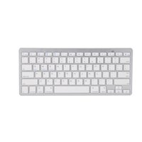 Universal Wireless Bluetooth Keyboard 3.0 per Apple iPhone serie iPhone, Mac Book, telefoni Samsung e tablet con balck e colore bianco X5