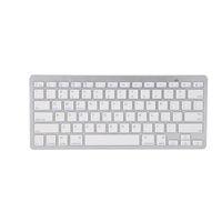 teléfono con teclado iphone al por mayor-Universal Wireless Keyboard 3.0 Bluetooth Keyboard para iPad iPhone Mac Book Samsung Teléfonos y tabletas Venta al por menor Embalaje