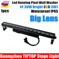 Wholesale background color flash for sale - Group buy TIPTOP Stage Light IP65 Waterproof x30W RGB IN1 Led Wall Washer Light Background Decoration Flash Pixel Running Light CE ROHS