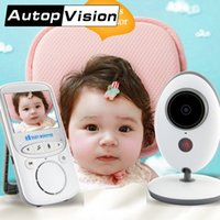 Wholesale Audio Power Line - VB605 LCD Audio Video Baby Monitor Nanny Music Intercom IR 24h Portable Baby Camera Baby Talkie Babysitter on line buy AT