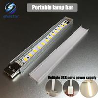 lámparas fáciles al por mayor-USB Luz nocturna LED Lámpara portátil Portátil Charge Pal Touch puede regular la atenuación del sensor de luz fácil de usar por la noche