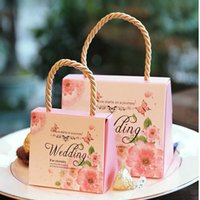 Favor Boxes pack box supplier - portable Candy Box Fashion Wedding Packing Box Wedding Supplier Favor Gift box Packing Bags Paper Gift Bags