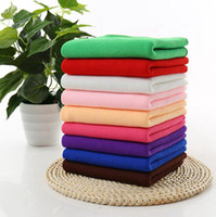 Wholesale Polyester Fiber Padding - Cleaning Cloth 30*70cm Fast Drying Water Uptake Auto Clean Towels Superfine Fiber Kitchen Cleanliness Beauty Salon Towels OOA2128