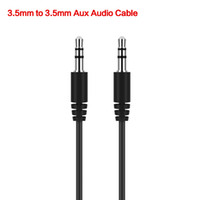 Cable black auxiliary - 2017 Hot Sale cm Black Aux Auxiliary Cable mm Male to Male Audio Cables Stereo Car Extension Wires Cords for Digital Devices