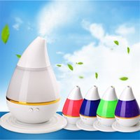 Wholesale Colorful Air Christmas - Aromatherapy Essential Oil Purifier Diffuser Air Humidifier with 7 Change Colorful LED Light Lamp for Home Office Yoga Spa Baby Bedroom