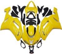 Wholesale Yellow Zx6r - New ABS Motorcycle bike Fairing kits Fit for KAWASAKI Ninja ZX6R 07 08 ZX6R 636 2007 2008 bodykits yellow glossy
