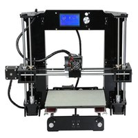 Wholesale High Host - Freeshipping Easy Set Anet A6&A8 3d Printer Big Size High Precision Reprap Prusa i3 DIY 3D Printing Machine+ Hotbed+Filament+SD Card+LCD