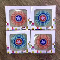 Wholesale Gel Light Wheel - fidget hand spinner led lights Silica gel Finger Toys EDC Focus Gyro stress wheel any-steering spinner toys