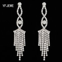 Wholesale Earrings Direct Selling - Fashion Earrings Promotion Direct Selling Women Jewelry Newest Arrival Long Tassel Drop Earrings Christmas Gift #E308