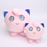 Wholesale video game center - Anime Jigglypuff poket center plush stuffed doll toy Jigglypuff good kids gift 15cm 22cm