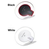 qi şarj cihazı satılık toptan satış-Sıcak Satış Lüks Qi Kablosuz Şarj için Şarj Pad Mini Samsung S6 S7 Kenar Artı S8 HTC Nokia vb US02
